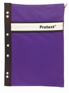 Protext Binder Buddy Pencil Case Purple