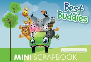 Best Buddies Mini 64pg Scrap Book 100gsm