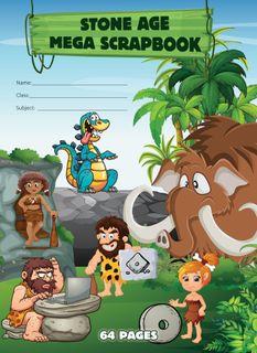 Stone Age Scrap Book 64pg 70g