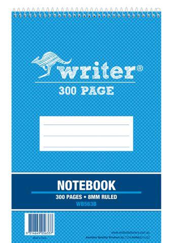 Writer 8*5 300pg Notebook