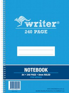WRITER A4 240pg Note Book