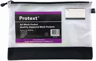 Protext A4 Mesh Pocket Mix 380x270mm