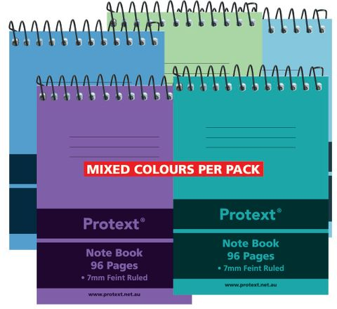 Protext 96pg PP Pocket Note Book