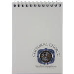 Cultural Choice 96pg Pocket Note Book - White