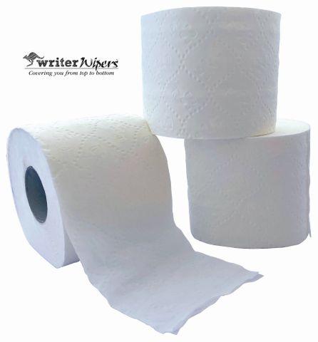 Writer Wipers 2ply Toilet Paper, 400 Sheet ctn 48 rolls