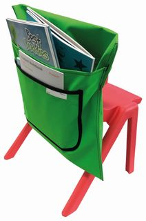 Writer Nylon Chair Bags - Green