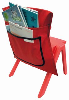 Writer Nylon Chair Bags - Red
