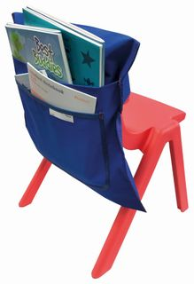 Writer Nylon Chair Bags - Blue