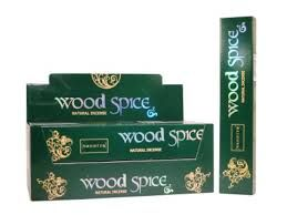 INCENSE:WOOD SPICE 15GM
