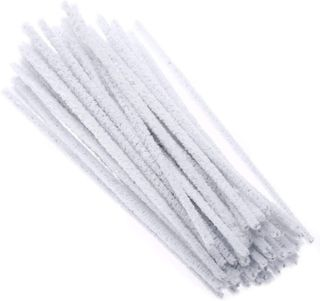 WHITE PIPE CLEANERS (12PK)