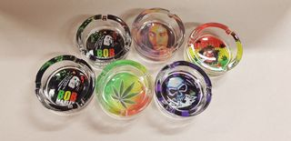 ASHTRAY GLASS  DESIGNS