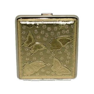 CIG/CASE: GOLD BUTTERFLY