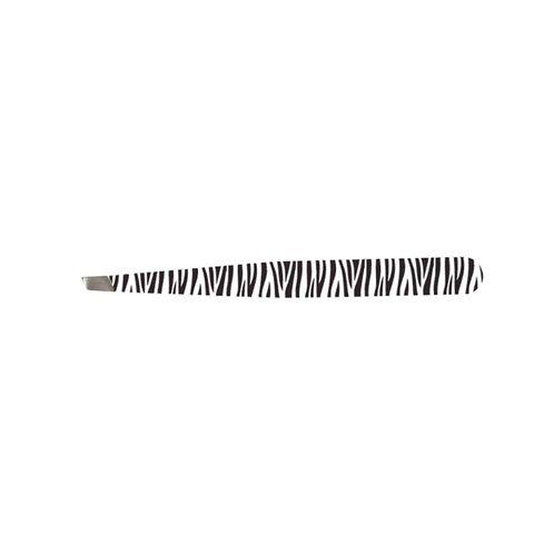 Tweezer Slant Zebra with pouch