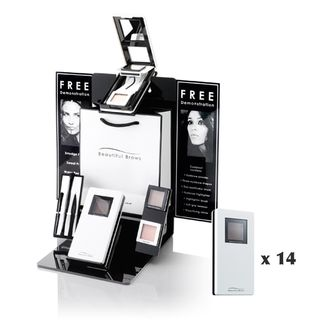 Beautiful Brows POS Counter w/ 14 kits