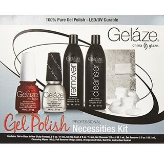 Gelaze Gel Polish PROFESSIONAL Necessities Kit