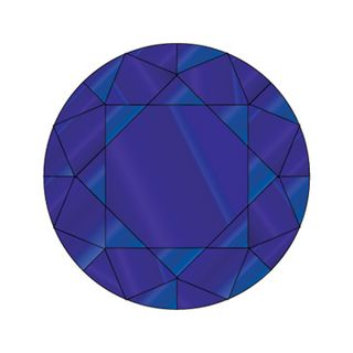 DIAMANTES 144 PACK BLUE ZIRCON