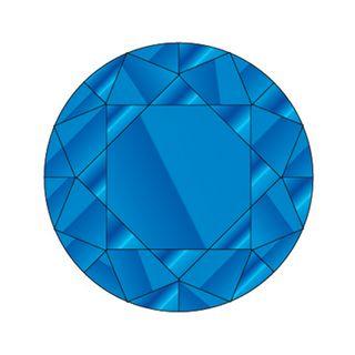 DIAMANTES 144 PACK CAPRI BLUE