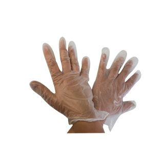 PE GLOVES Transparent 100PK