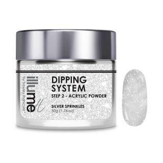 SILVER SPRINKLES Dipping Powder
