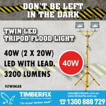 STAY SAFE ON SITE WITH LED LIGHTING