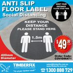 STAY SAFE WITH SOCIAL DISTANCING