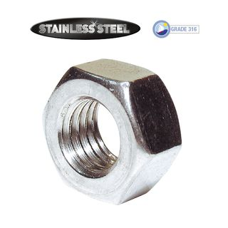 Hex Nuts - Stainless Steel