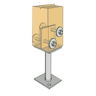 Centre Fix Post Anchors
