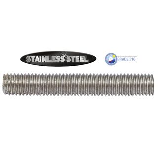 Threaded Rod - Stainless Steel