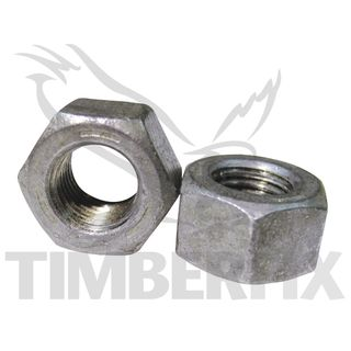 Hex Nuts Structural - Galvanised
