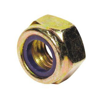 Nylon Insert Lock Nuts - Zinc