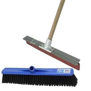 Brooms, Scrubbers & Squeegees