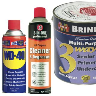 Paints, Lubricants & Degreasers
