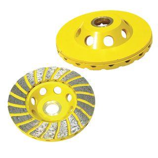 Diamond Cup Grinding Wheel - Heavy Duty Turbo
