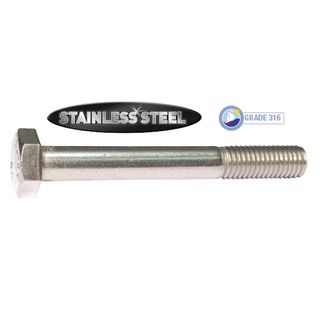 Hex Head Bolt - Stainless Steel