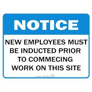 Notice Signage