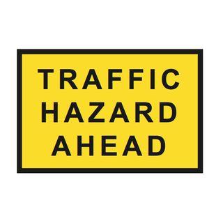 1200 x 900mm Traffic Hazard Sign
