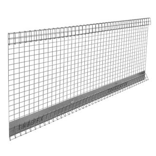 1m x 2.4m Edge Protection Panel with Safety Kick Plate