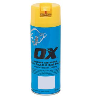 Survey Marking Paint; 350gm Spray YELLOW