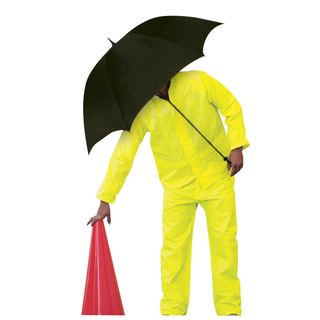 Hi-Vis Rain Suit Jacket & Pants Set - Medium