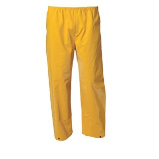 Rain Pants, yellow PVC