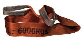 6000kg x 2m Flat Sling Brown