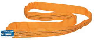 10,000kg x 5m Round Sling Orange