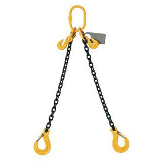 8mm x 4mtr Double Leg Chain Sling - NETT