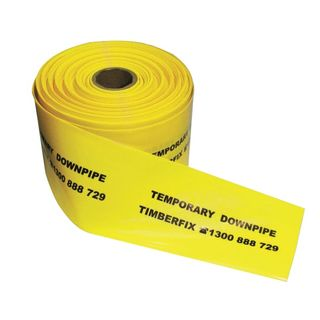 Temporary Downpipe 90-100mm, 100mtr Roll