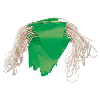 Day Bunting 30 mtr Nylon Rope - GREEN -