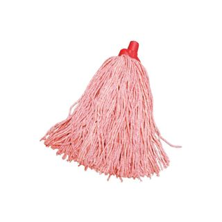 Cotton Mop - Head ONLY  - RED