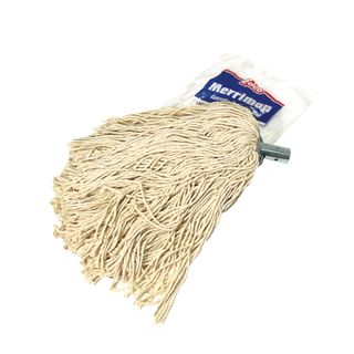 Cotton Mop - Head ONLY  - WHITE