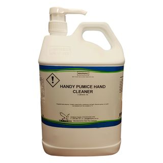 5 Ltr Pump Blue Grit Hand Cleaner