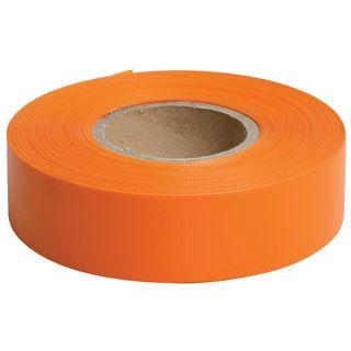 Flagging Tape Orange 25mm x 75m - Surveyors Ribbon -