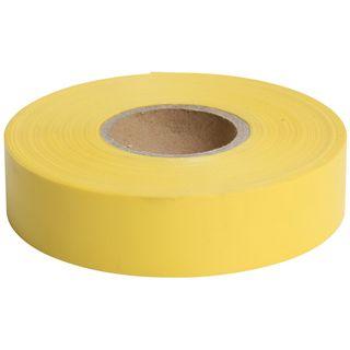 Flagging Tape Yellow 25mm x 75m - Surveyors Ribbon -